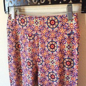 LuLaRoe Pants & Jumpsuits - Rainbow Kaleidoscope Lularoe O/S Leggings Skinny